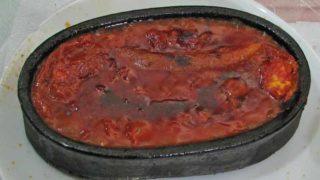 キレミット・ケバブ(肉とトマトの窯焼き)