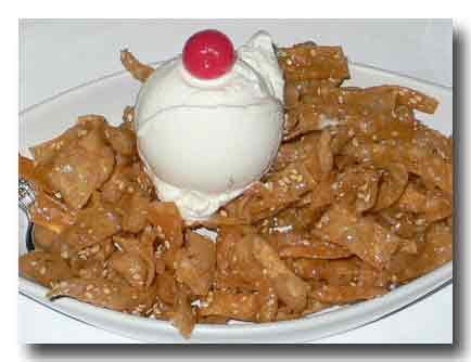 冰激密面(Honey Noodle with icecream)