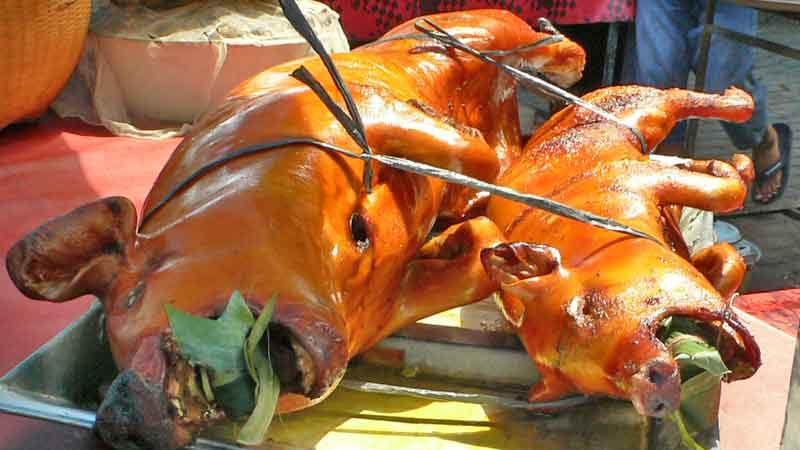 バビグリン babi gling [豚の丸焼き]