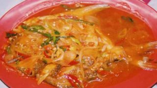バワル・ソース・チリ bawal saus chili [マナガツオチリソース]