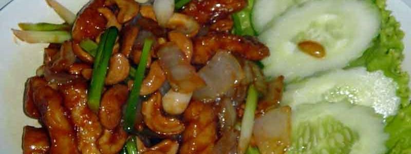 プラー・パッ・メッマムアンヒンマパンปลามะม่วงหิมพานต์ [魚とカシューナッツ炒め]