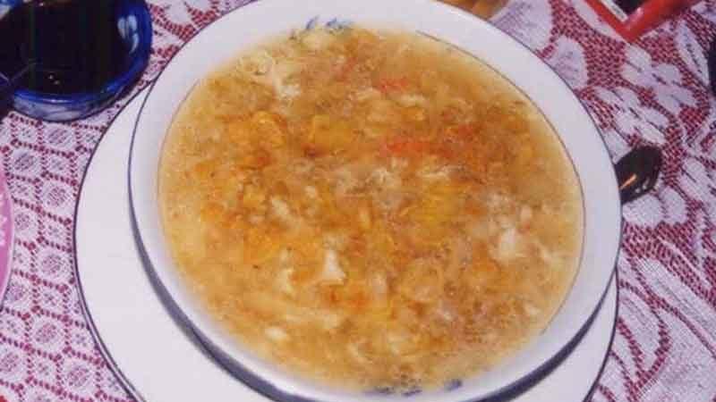 スップ・マン・タイ・クア Súp Măng tây Cua [蟹とホワイトアスパラのスープ]