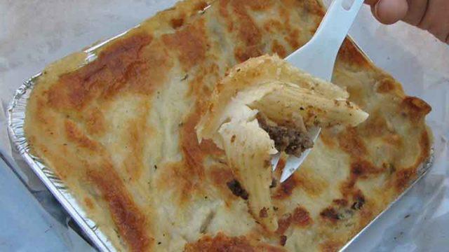 マカロナ・ベシャメル macarona bashamyl [エジプト風マカロニグラタン]