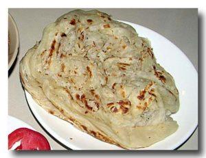 ケララ・パロタ ケララ地方のパン