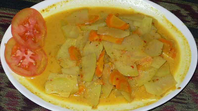 パパイヤ・カレー Papaya curry