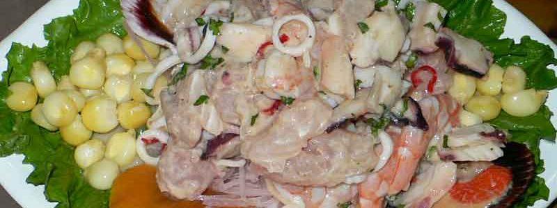セビッチェ cebiche [魚介類のマリネ]