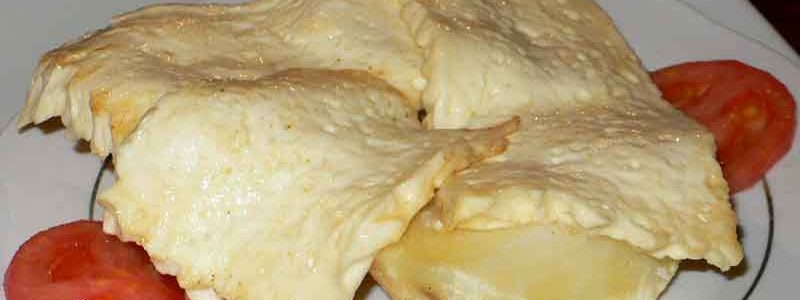 ケソ・フリート queso frito con papas [チーズフライ]
