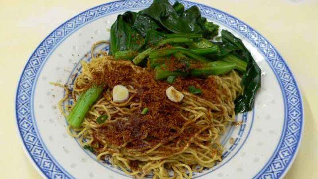 招牌蝦子撈麺 [海老の卵かけ汁なし麺]