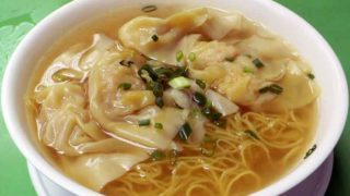 蝦雲呑湯麺 [えびワンタン汁麺]