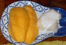 カオニャオ・マムアン ข้าวเหนียวมะม่วง [マンゴーと餅米のココナッツソース]