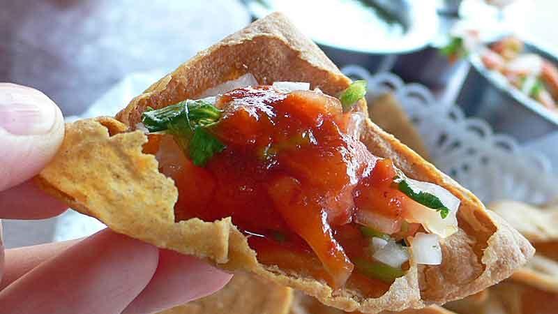 トルティーヤチップス、ナチョス tortilla chips & nachos