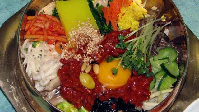 ビピンバブ 비빔밥 [韓国風混ぜご飯]