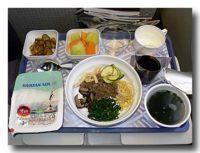 大韓航空機内食 エコノミークラス ビピンパブ