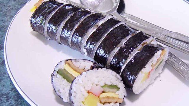 キムパブ 김밥 [韓国風海苔巻き]