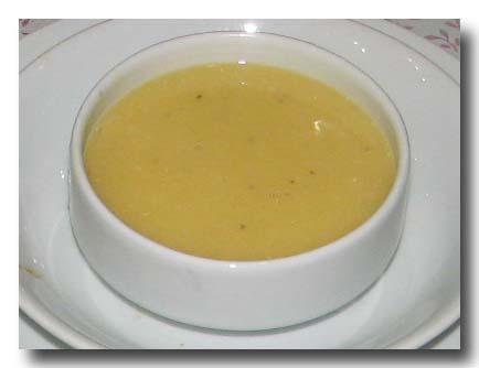 メルジメッキ・チョルバス レンズ豆のスープ