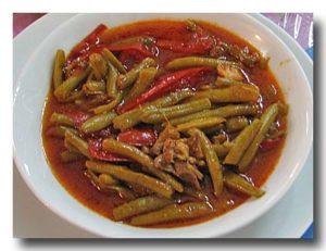 ターゼ・ファスリエ インゲン豆の煮込み