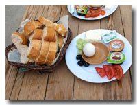 トルコの典型的な朝食