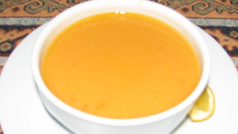 メルジメッキチョルバス レンズ豆のスープ