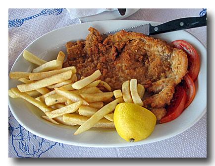 シニッツェル 鶏肉のカツレツ