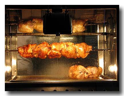 ピリチ・チェヴィルメスィ 鶏の回転焼き ロースター