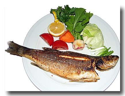 バルク・ウズガラ 焼き魚 スズキ