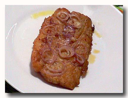 フィレテ・デ・ペスカド 魚のムニエル