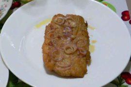 フィレテ・デ・ペスカド filete de pescado [魚のムニエル]