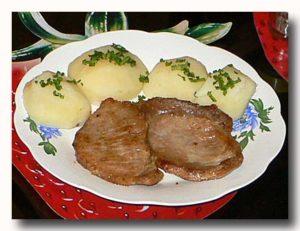 カルネ・デ・セルド ポークソテー 豚肉