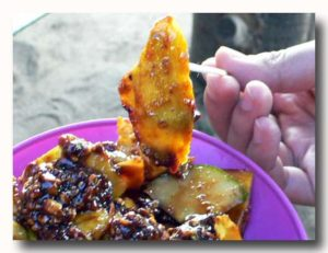 ルジャック rujak インドネシア風フルーツサラダ