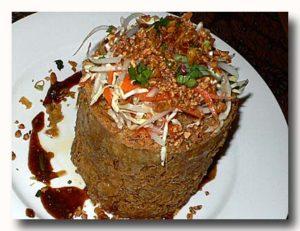 タフ・テロール 豆腐のかき揚げ