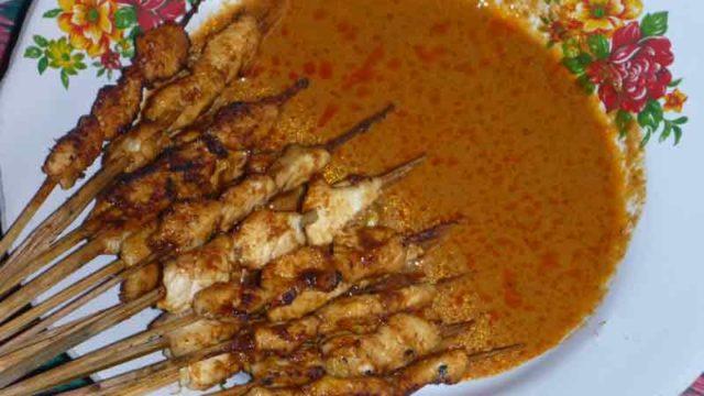 サテアヤムササック 焼き鳥の辛みソース