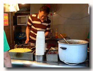 長春李老太炒粉 李さんの澱粉炒めスープの店舗