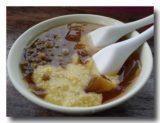 総合愛玉:煮豆と粟餅入り愛玉子
