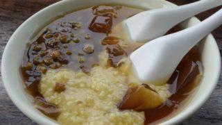 総合愛玉子 豆、粟餅入りオーギョーチ