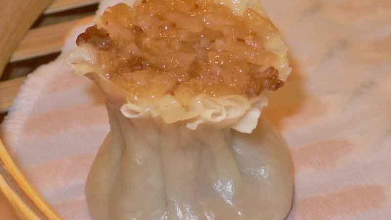 糯肉焼麦 nuò ròu shāo mài [豚と糯米のシュウマイ]