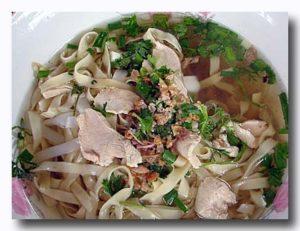 ミー・カイ 鶏の汁麺