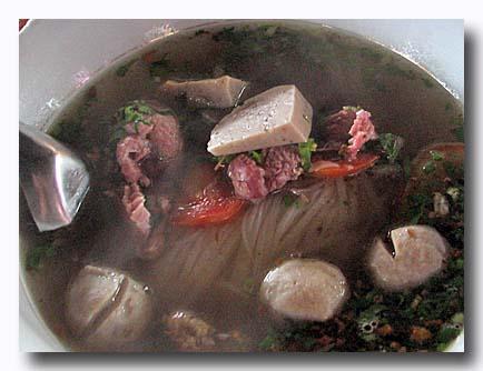 フー fu 米の平麺