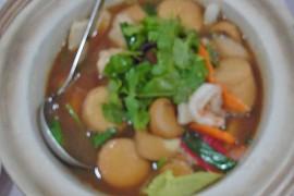 砂鍋豆腐 sago taufu [豆腐の土鍋煮]