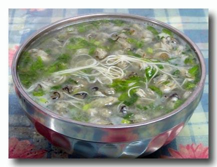 金門島の蚵仔麺線