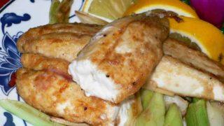 香煎烏魚鰾 xiāng jiān wū yú biào [ボラの白子焼き]