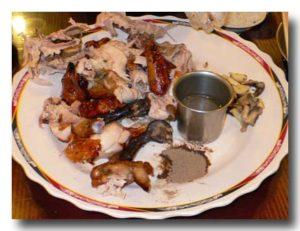 甕窯鶏 を分解完了