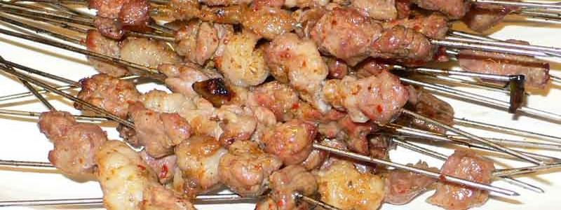 烤串 kǎo chuàn [串焼き]