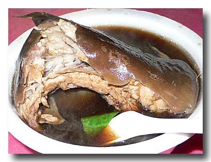 土虱湯 ナマズスープ