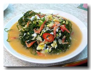 炒海菜 海草の炒めもの さら全体
