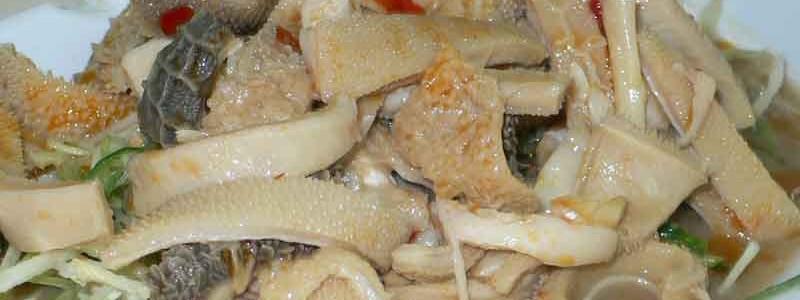 涼拌羊肚 liáng bàn yáng dù [山羊の胃袋の和え物]