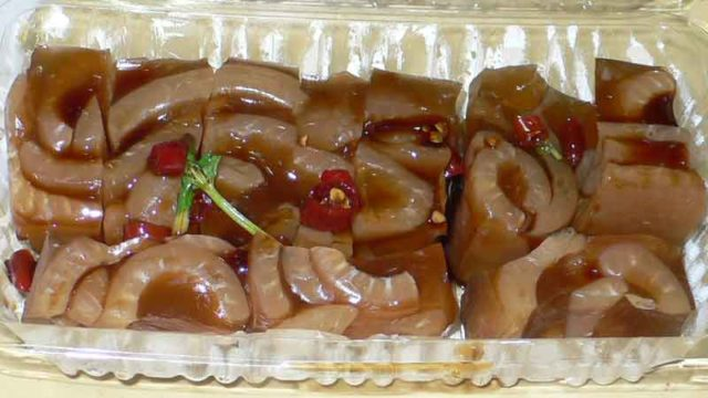 豚皮凍 tún pí dòng [豚皮の煮こごり]