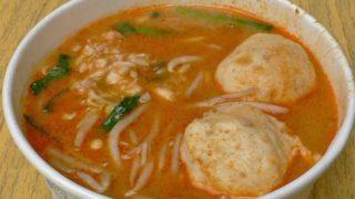 沙茶麺 shā chá miàn [ピーナッツ風味汁麺]