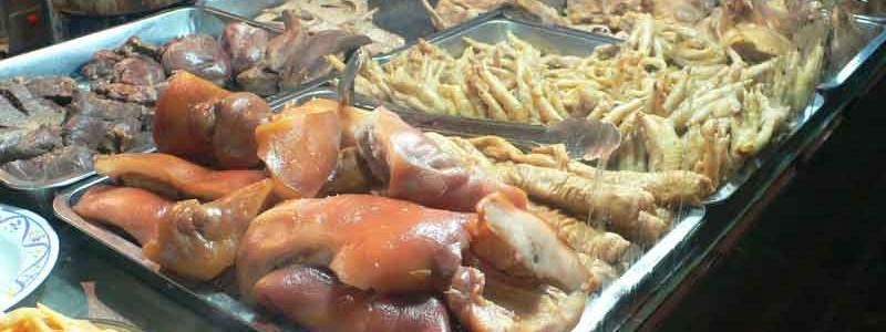卤味 lǔ wèi [中国風煮物]