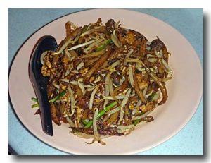 """""""炒檳城老鼠粉 penang fried rat noodle [ペナン風マカロニ]"""