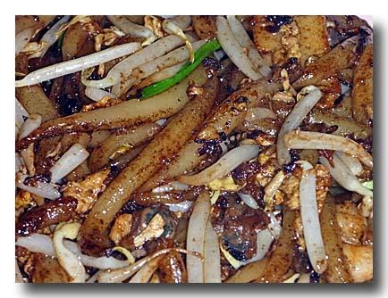 炒檳城老鼠粉 penang fried rat noodle [ペナン風マカロニ]
